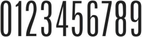 Arda Light Condensed otf (300) Font OTHER CHARS
