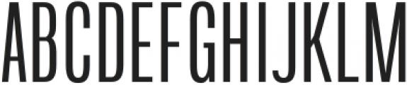 Arda Light Condensed otf (300) Font UPPERCASE