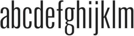 Arda Light Condensed otf (300) Font LOWERCASE