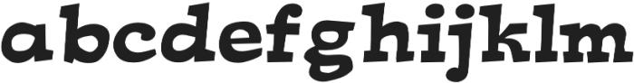 Ardenia Bold otf (700) Font LOWERCASE