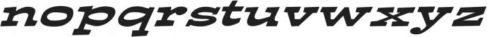 Ardenia Extra-expanded Italic otf (400) Font LOWERCASE