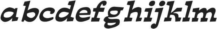 Ardenia Italic otf (400) Font LOWERCASE
