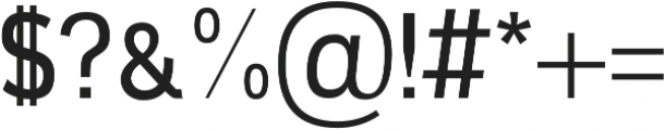 Ardent Sans Regular otf (400) Font OTHER CHARS