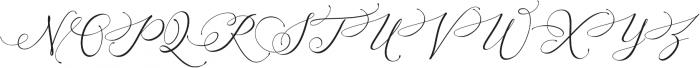 Arellia otf (400) Font UPPERCASE