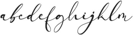 Arellia ttf (400) Font LOWERCASE