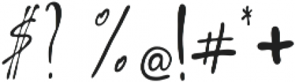Arelon ttf (400) Font OTHER CHARS