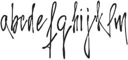 Arelon ttf (400) Font LOWERCASE
