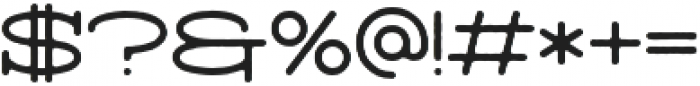 Arendt_Rough otf (400) Font OTHER CHARS