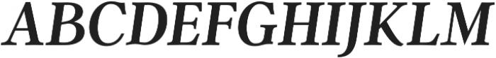 Argent CF Demi Bold otf (600) Font UPPERCASE