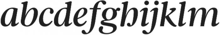 Argent CF Demi Bold otf (600) Font LOWERCASE