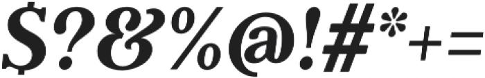 Argent CF Extra Bold otf (700) Font OTHER CHARS