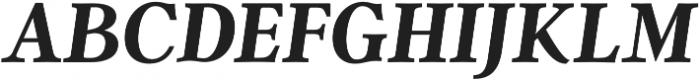 Argent CF Extra Bold otf (700) Font UPPERCASE