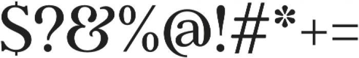 Argent CF Super otf (400) Font OTHER CHARS