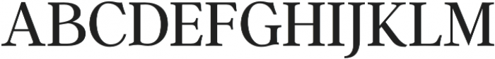Argent CF Super otf (400) Font UPPERCASE