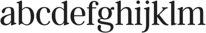Argent CF Super otf (400) Font LOWERCASE