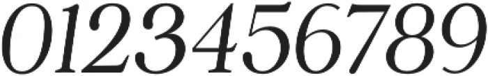 Argent CF Thin Italic otf (100) Font OTHER CHARS