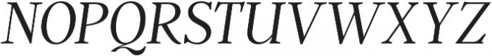 Argent CF Thin Italic otf (100) Font UPPERCASE