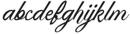 Argha otf (400) Font LOWERCASE
