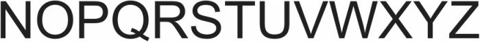 Arial ttf (400) Font UPPERCASE