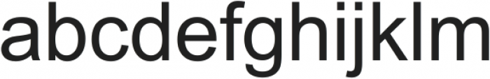Arial ttf (400) Font LOWERCASE