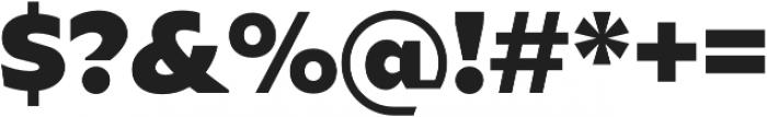 Ariana Pro Heavy otf (800) Font OTHER CHARS