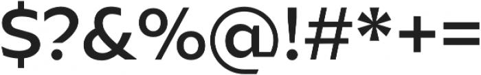 Ariana Pro Medium otf (500) Font OTHER CHARS