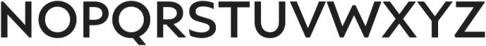 Ariana Pro Medium otf (500) Font UPPERCASE