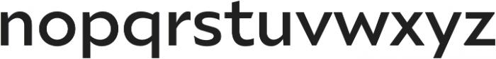 Ariana Pro Medium otf (500) Font LOWERCASE