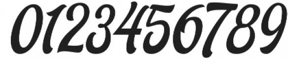 Ariestha Regular otf (400) Font OTHER CHARS