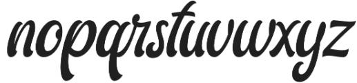 Ariestha Regular otf (400) Font LOWERCASE