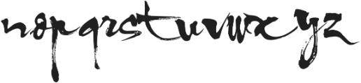 Aring otf (400) Font LOWERCASE
