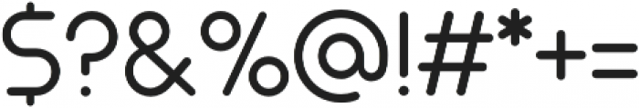 Arista Pro Light otf (300) Font OTHER CHARS