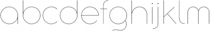 Aristotelica Display Hairline otf (100) Font LOWERCASE