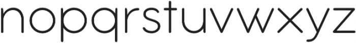 Aristotelica Text ExtraLight otf (200) Font LOWERCASE