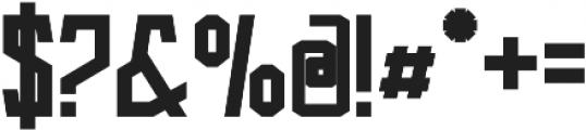 Arka otf (700) Font OTHER CHARS