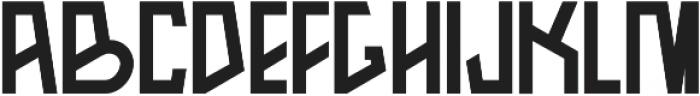 Arka otf (700) Font UPPERCASE
