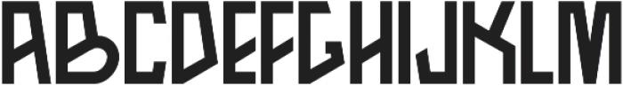 Arka otf (700) Font LOWERCASE