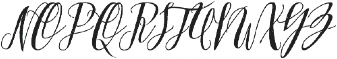 Arkana Script Rough otf (400) Font UPPERCASE