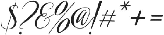 Arkana otf (400) Font OTHER CHARS