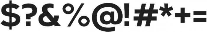 Arkibal Bold otf (700) Font OTHER CHARS