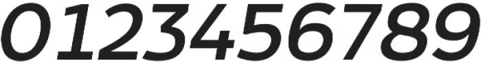 Arkibal Display Regular Italic otf (400) Font OTHER CHARS