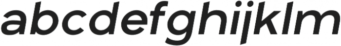 Arkibal Display Regular Italic otf (400) Font LOWERCASE