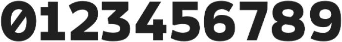Arkibal Mono Heavy otf (800) Font OTHER CHARS