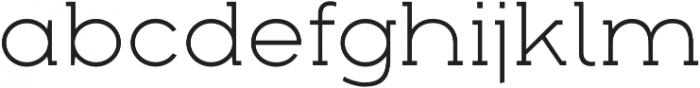 Arkibal Serif Light otf (300) Font LOWERCASE