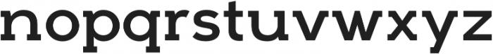 Arkibal Serif Regular otf (400) Font LOWERCASE