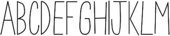 Arlo Lite Regular otf (400) Font LOWERCASE
