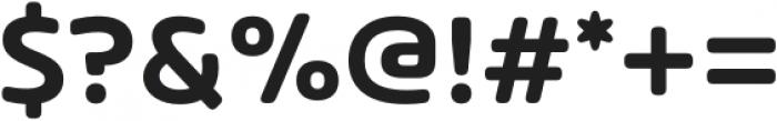 Arlon SemiBold otf (600) Font OTHER CHARS
