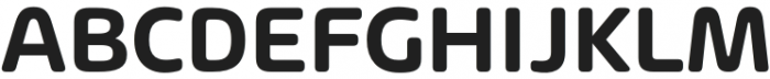 Arlon SemiBold otf (600) Font UPPERCASE