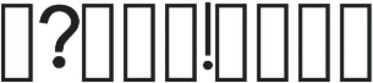 Armadilo Regular otf (400) Font OTHER CHARS