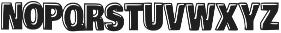 Armadilo Regular otf (400) Font LOWERCASE